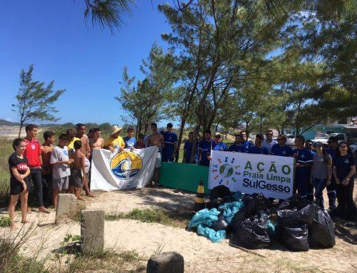 SulGesso realiza pelo quinto ano consecutivo a Ação Praia Limpa