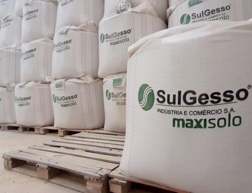 Empresa catarinense inicia exportação de fertilizante mineral à base de sulfato de cálcio
